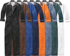 NAVY BLUE New Red Kap CT10 COVERALLS U Choose Color & Size Zip Up Jumpsuit