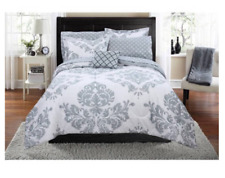 New 8 Piece King Size Bed in a Bag Comforter Set Sheets Bedding Bedspread Shams