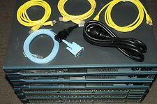 Cisco CCNA CCNP CCIE Lab with 3xCISCO2811 WS-C3548-XL-EN 180DaysWty Guiding DVD