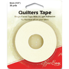 Sew Easy 27m x 6mm Quilters Single Faced Tape