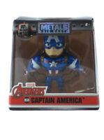 "Jada Toys Die-Cast Metals Captain America 2.5"" Inch Figure Avengers Marvel M500"