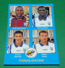 N°423 GOUAMENE SEBWE MANACH TOULOUSE TFC D2 PANINI FOOT 96  FOOTBALL 1995-1996