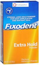 Fixodent Extra Hold, Denture Adhesive Powder 1.6 oz