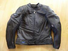 Wie neu! Hochwertige Leder-Motorradjacke Vanucci TFL für Damen, Größe 21