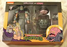 Shredder and Krang NECA Teenage Mutant Ninja Turtles 2 Pack TMNT Figure Set
