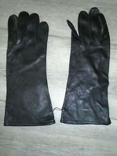 More details for raf black leather flying gloves size 10 genuine issue new