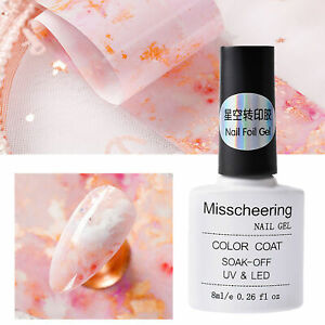 8ml Nail Gel Shiny Gloss Surface Safe Ingredients Safe for Lady