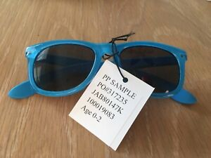 Janie and Jack Sunglasses TURQUOISE size 0 - 2 years New