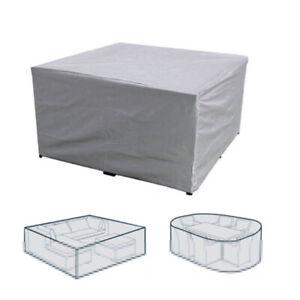 UK Premium Heavy Duty Waterproof Rattan Cube Cover Outdoor Garden Furniture Rain