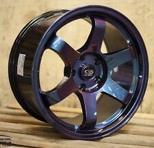 17X9 +25 ROTA GRID 5X114.3 CHAMELEON WHEELS Fits Ford Mustang Gt Wrx Sti 5X4.5