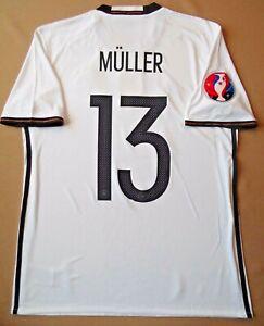 Muller Germany Jersey 2016 2017 Home M Shirt Mens Trikot Adidas AI5014 ig93