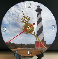 Brand New -- Cape Hatteras Lighthouse CD Clock NICE