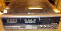 Vintage Realistic Clarinette 122 AM/FM Stereo, Dual Cassette, Turntable(C7-1)