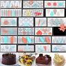 Silicone Chocolate Fondant Candy Cake Decorating Sugarcraft Baking Mould Tools