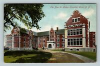 Utica NY, New St Lukes Hospital, Vintage New York Postcard