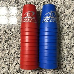 Speed Stacks Cups Official Stacking Red & Blue 24pc Lot Bundle 🚚💨