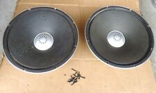 vintage Sansui speakers SP-X8000 woofers pair parts replacement.BOTH WORKING