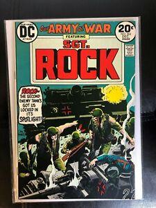 Our Army At War 263 VF/NM High Grade Joe Kubert Cover