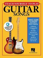 Teach Yourself To Play Guitar Songs Sweet Home Alabama MUSIC Book & Online Media