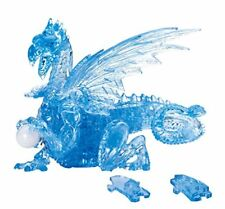 BEVERLY Blue Dragon 3D Crystal Puzzle with Movable Wings 56 pieces