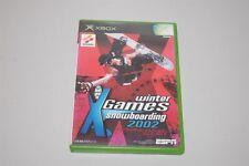 Winter Games Snowboarding 2002 Japan Microsoft Xbox Game