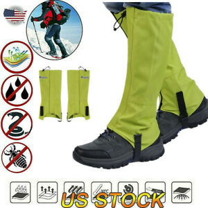 Anti Bite Snake Guard Leg Protection Gaiter Cover Hiking Camping Outdoor NEW US