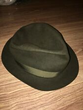 CHRISTYS LONDON VINTAGE/RETRO MENS SMALL GREY WOOL FELT TRILBY HAT (VG COND)