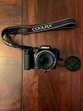 Nikon COOLPIX P100 10.3MP Digital Camera - Black - Excellent condition
