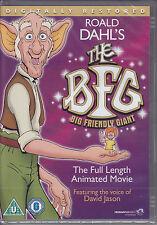 BFG (1989) animated film of Roald Dahl's Big Friendly Giant  New & Sealed R0 DVD