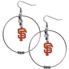 San Francisco Giants Large Hoop Earrings BHE060