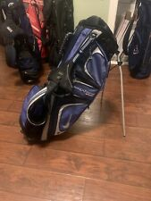 Nike Extreme Sport Stand Bag ( no cover) Blue - Divides To 8