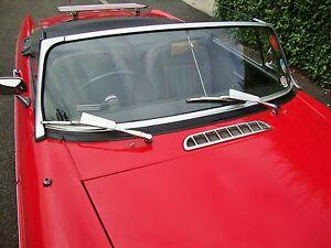 MG Windscreen Wiper Wind Deflectors for VW Bug  Bay Split Mini Morris Jag AAC059