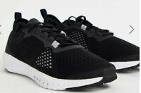 Reebok Flexagon ASTRORIDE Trainers Size 7 black White Workout Gym Running NEW