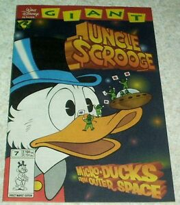 Walt Disney Giant 7: Uncle Scrooge Micro-Ducks, NM 9.4