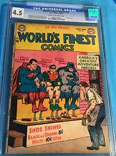 World's Finest Comics #70 (DC 5-6 1954) CGC 4.5 C/OW Last 15 Cent Issue RARE