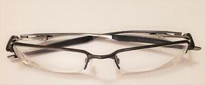 Oakley HALFSHOCK OX3119-0253 Polished Brown Half Rimless Rx Eyeglasses 53-19 142