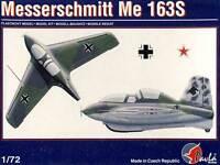 Pavla Messerschmitt Me-163S Cometa + Aguafuerte Modelo Equipo de Construcción 1: