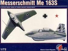 Pavla Messerschmitt Me-163S Komet +Ätzteile Modell-Bausatz 1:72 Doppelsitzer NEU