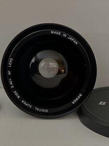 Bower Titanium Super Wide 0.42x & Macro Lens With 52mm Thread. Japan. Clean.