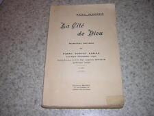 1930.la Cité de Dieu / saint Augustin.traduction par gabriel Vidal