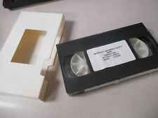 BMW VHS Video Cassette 1/12/99 Merkley Newman Harty BMWK 1200 K1200 LT J9083
