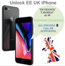 EE UK iPhone Official Unlocking Service X,XR,8,7,6s,6,SE,5,4,3G All Supported✅✅✅