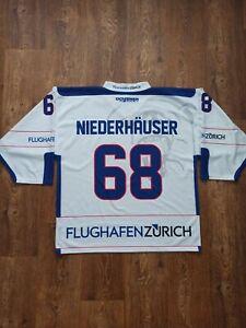 EHC BÜLACH SWISS SUISSE ICE HOCKEY JERSEY SHIRT TRIKOT SIZE XL Niederhäuser #68