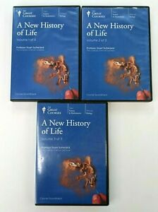 Great Courses: A NEW HISTORY OF LIFE - 18 CD Set - Teaching Company