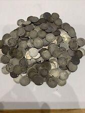 More details for pre 1920 young head queen victoria (0,925) silver 3d x 415 scrap coins 540 gms