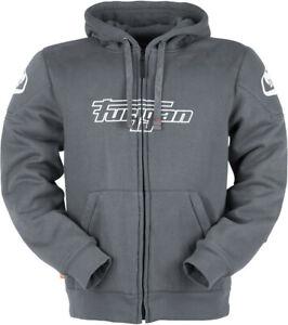 Furygan Luxio Motorcycle Zip Hoodie Grey