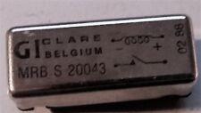 Clare Gi Reed Relé MRB S 20043 nuevo viejo stock 3 piezas