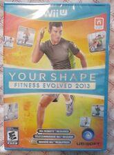 Nintendo Wii U Your Shape Fitness Evolved 2013 (Brand New)