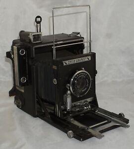 4x5 Graflex Speed Graphic Camera w/ Graflex Optar f4.7 135mm Lens