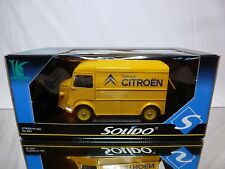 SOLIDO 8053 CITROEN TYPE HY VAN - CITROËN SERVICE - YELLOW  1:21? - NEAR MINT IB
